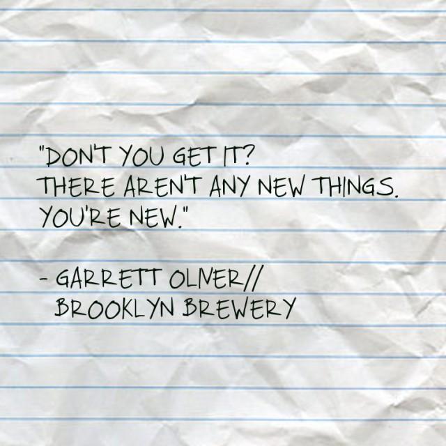 Garrett Oliver quote