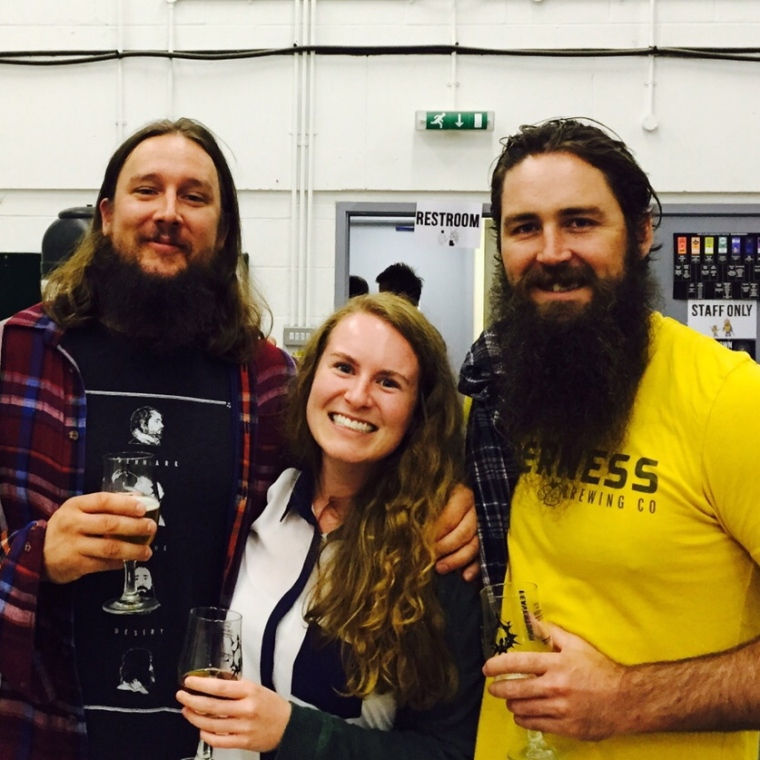Rainbow Project 2015 at Beavertown Brewery with Jon & Patrick from Arizona Wilderness Brewing Co.