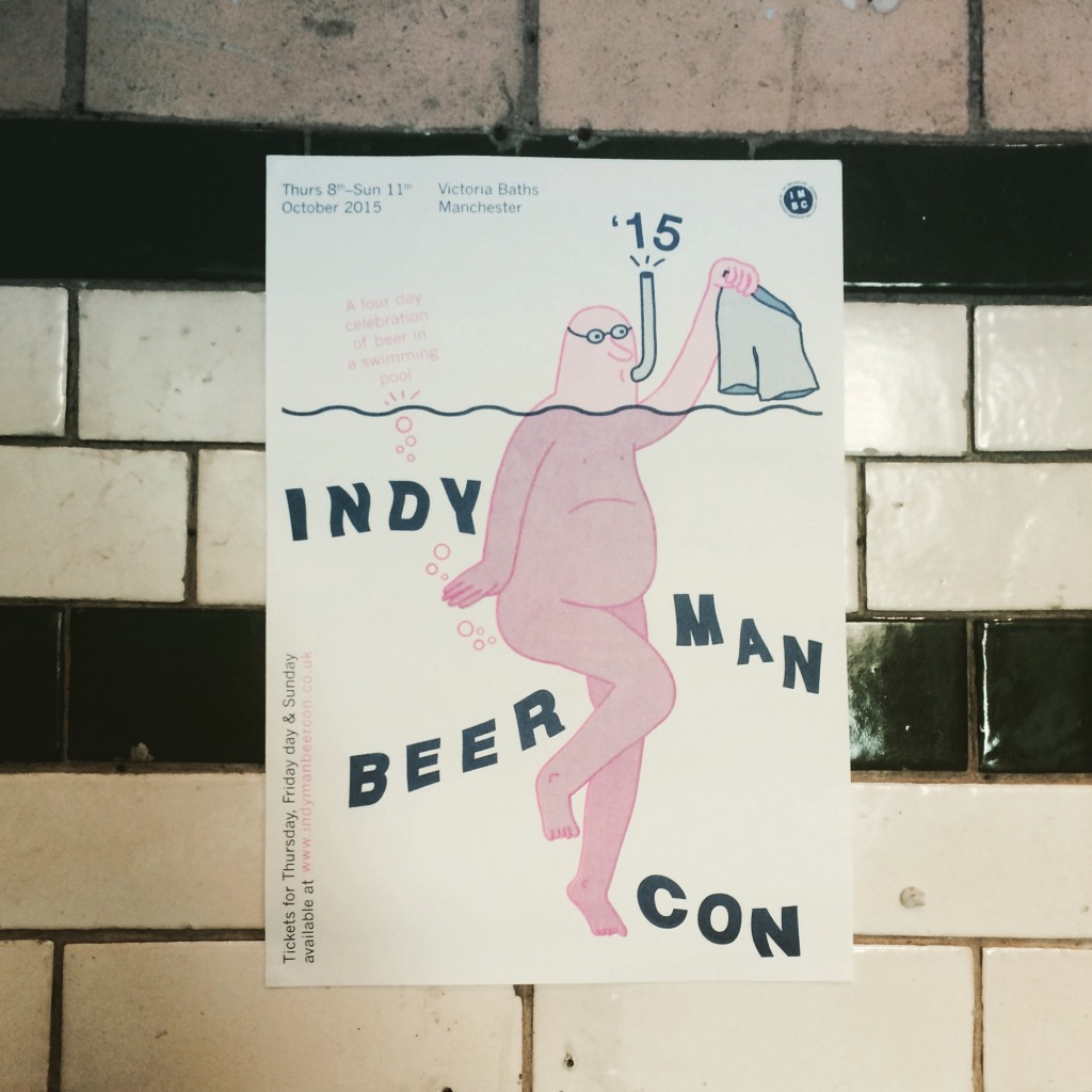 Indy Man Beer Con Poster
