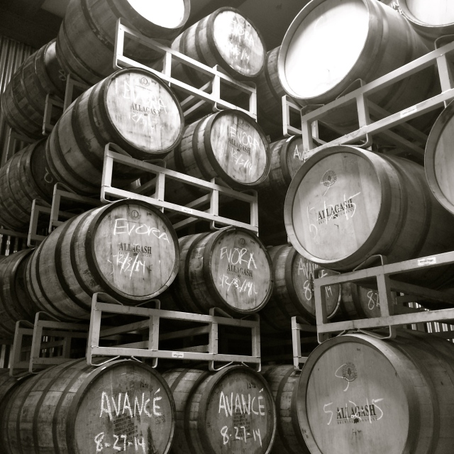 Allagash Barrel Room