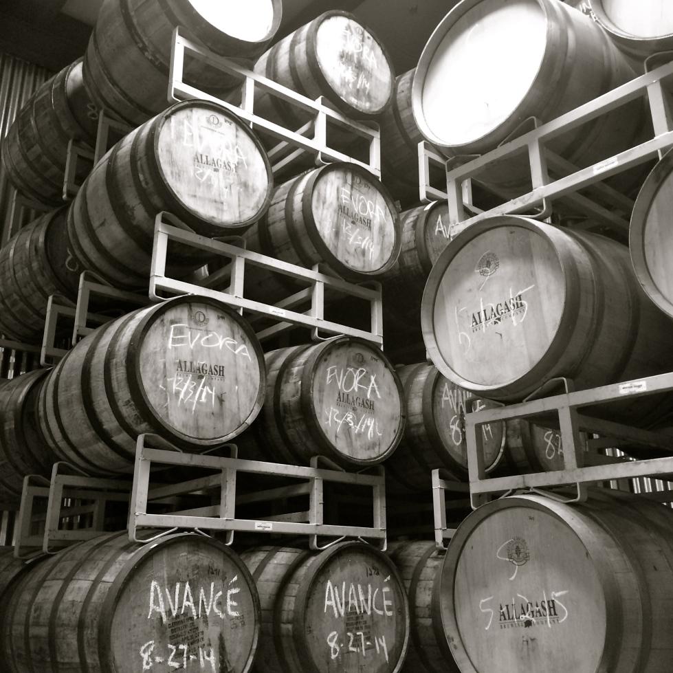 Allagash Barrel Room
