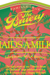 Bruery // 8 Maids-A-Milking