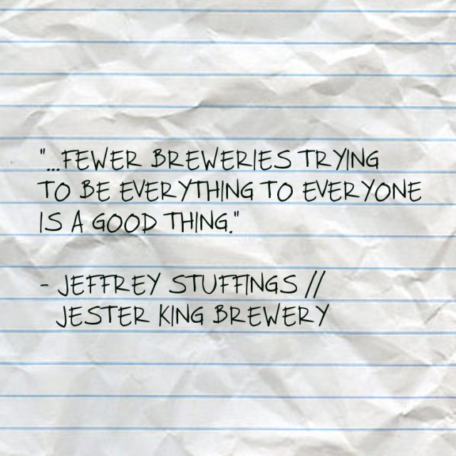 Jeffrey Stuffings // Jester King