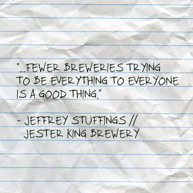 Jeffrey Stuffings // Jester King