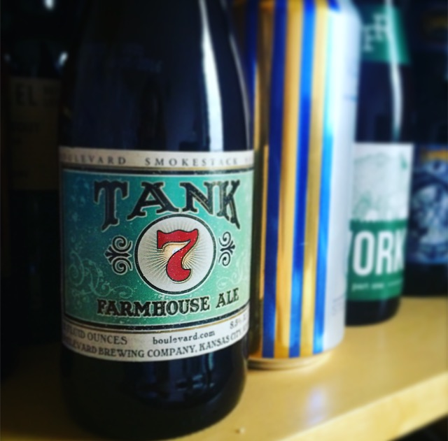 Boulevard // Tank 7 on shelf