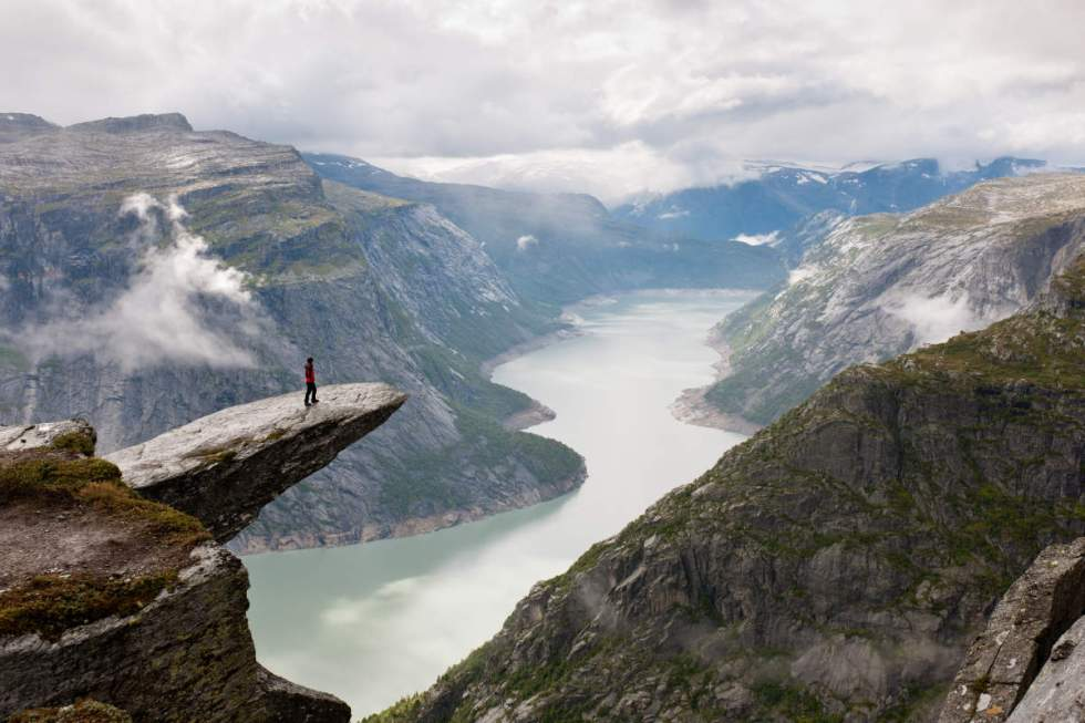 Trolltunga Cliff, Norway
