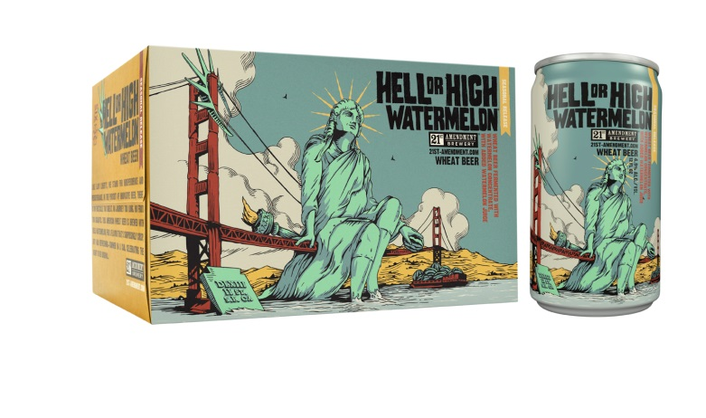 21st Amendment // Hell or High Watermelon
