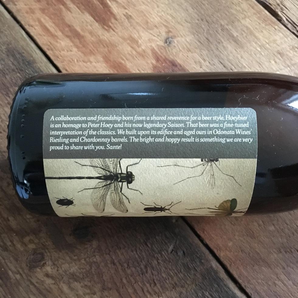 Hoeybier label