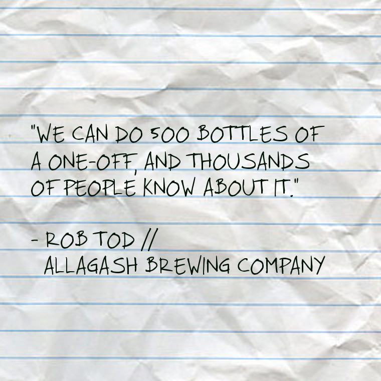 Rob Tod // Allagash Brewing Co