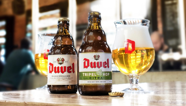 Duvel and Duvel Tripel Hop