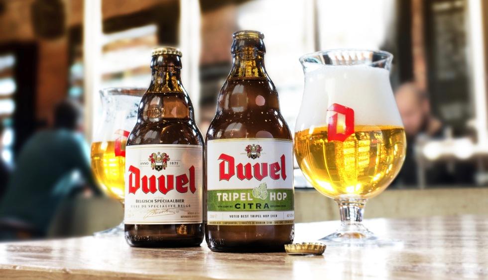 Duvel and Duvel Tripel Hop