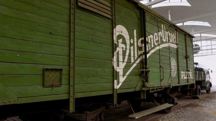 Pilsner Urquell railcar