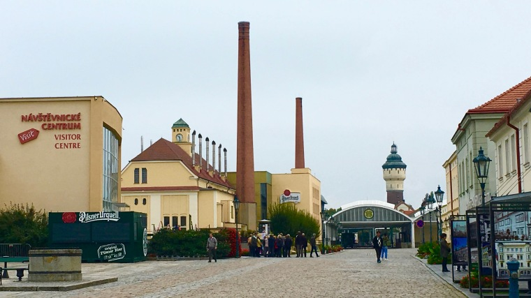 Pilsner Urquell brewery today