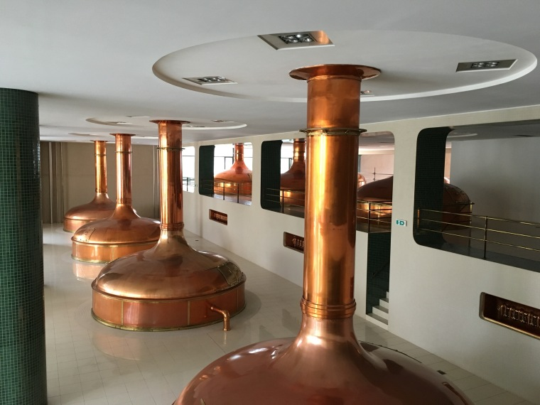 New Pilsner Urquell brewhouse