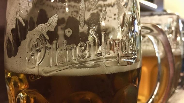 Pilsner Urquell glass