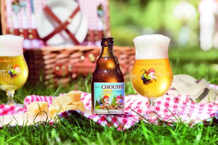 Chouffe Soleil picnic
